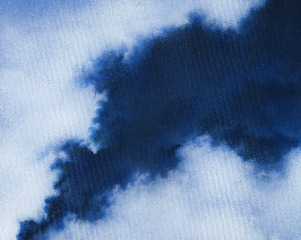 EITHERWAY cloud painting by Mark Smollin